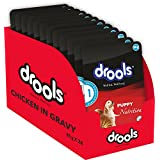 Drools Real Chicken & Liver In Gravy- Puppy Dog Food, 80g (Pack Of 24)