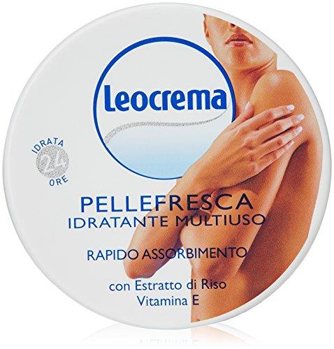 Leocrema - Pelle Fresca Idratante Multiuso, Rapido Assorbimento - 150 ml