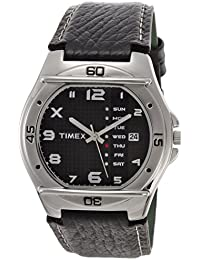Timex Fashion Analog Black Dial Men's Watch-EL03