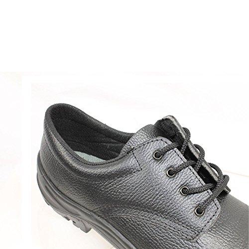 Ergos madrid 2 chaussures de sécurité s1P sRC chaussures businessschuhe plat noir Schwarz
