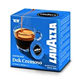 Lavazza A Modo Mio Dek Cremoso Coffee Capsules (4 Packs of 16)