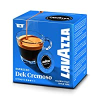 Lavazza Dek (Decaffeinated) Cremoso Modo Mio 16 Coffee Capsules (Pack of 5)