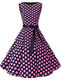 Bbonlinedress Women s Retro 1950s Vintage Swing Rockabilly Party Cocktail  Dress db871b847f6