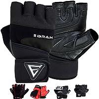 Emrah Gewichtheber-Handschuhe aus Leder; Fitness, Workout, Crossfit, Bodybuilding, Powerlifting; atmungsaktiv,... preisvergleich bei billige-tabletten.eu