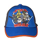 LEGO Wear Jungen Kappe LEGO Star Wars CARLOS 101 - Cap, Gr. 52, Blau (STRONG BLUE 560)