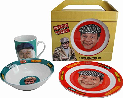 Only Fools and Horses 3 Piece Breakfast Set in Presention Box