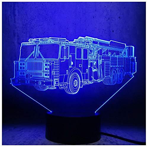 Illuminazione Lampada a LED 3D per bambini giocattolo Luce notturna regalo di compleanno per adolescenti Decorazioni per la sala di esposizione Lampadina per auto Mostra per bamb