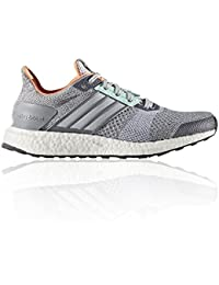 new style 03145 234e4 adidas Ultra Boost ST W Clear Grey White Green
