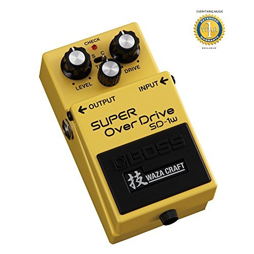 BOSS SD-1W de Super Overdrive Waza Craft Edición Especial