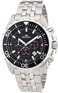 Rotary AGB00013/C/04 Gents Chronograph Stainless Steel Bracelet Watch