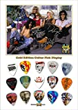 Guns N Roses Gold Guitar Médiator Pick Display (Limited to 50)