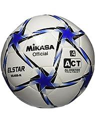 Mikasa Fußball, weiß/Blau, 4, SE-409 N