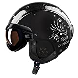 CASCO SP-6 VISIER LIMITED CRYSTAL Damen Skihelm schwarz M 54-58cm