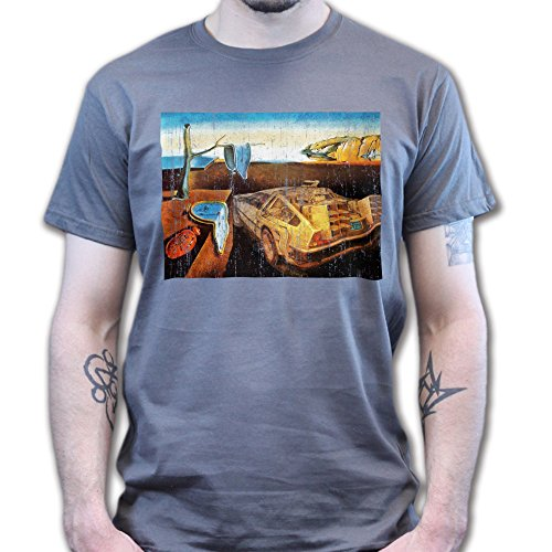 Back to the Dali Future Persistence of Memory T-shirt Weiß