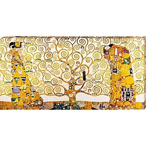 Gustav Klimt - The Stoclet Frieze, 1905-1911 Cuadro, Lienzo Montado Sobre Bastidor (100 x 50cm)