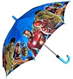 #8: Funny Teddy Umbrella for Age (4-12 Years) with Whistle - Superheros Theme