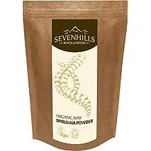 Sevenhills Wholefoods Espirulina en Polvo Cruda Orgánico 250g