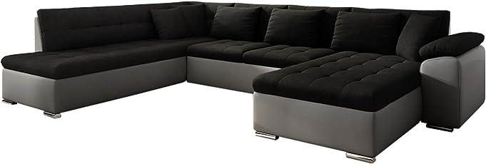 Mirjan24 Eckcouch Ecksofa Niko Bis! Design Sofa Couch! Mit Schlaffunktion  Und Bettkasten! U