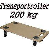 Transportroller MDF 200 kg Möbelroller Rollbrett Hund Möbelhund Möbel Roller