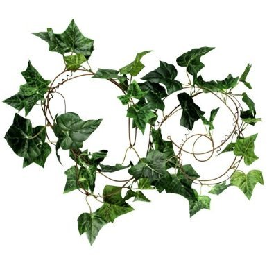 Künstlich Efeu Efeugirlande 200cm künstliche Pflanze Wanddekoration für Hochzeit Party Garten Festival - Auch Bald Kostüm Partei