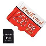 Redkcard carte micro SD Carte mémoire Mini carte SD SDHC SDXC Carte TF pour smartphone tablette...