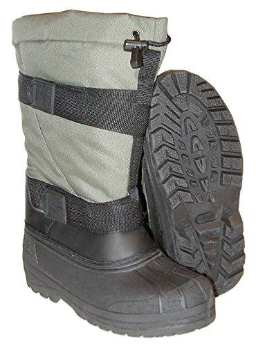 Hydrofuge et confortable kälteschutzstiefel bottes arctic de bottes bottes d'hiver vert olive et noir 35/36/47/48 mm Olive
