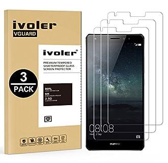 ivoler [3 Pack] Pellicola Vetro Temperato per Huawei Mate S [Garanzia a Vita], Pellicola Protettiva, Protezione per Schermo