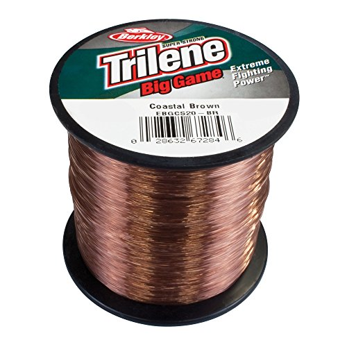 Berkley Trilene Big Game 1/4 lb Spule 0,35mm 1000m brown