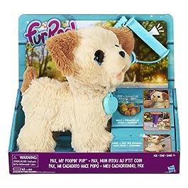 Hasbro FurReal – Pax, Il Cagnolino che fa i Bisognini, 4 anni +, C2178EU4, Bianco e Marrone