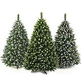 AmeliaHome 08017 180 cm Künstlicher Weihnachtsbaum PVC Tannenbaum Christbaum Kiefer Alice Weihnachtsdeko