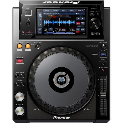 Pioneer XDJ 1000 Rekordbox-kompatibles, voll scratchfähiges, digitales DJ-Deck (Pioneer Dj-cd-player)