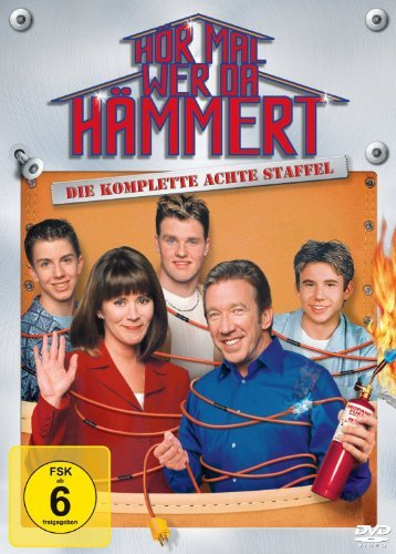 Home Improvement: Season 8 (EU-Import / Region 2) (English audio) by Tim Allen (Dvd Home Improvement)