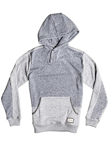 Quiksilver Herren Kapuzenpullover Light Grey Heather