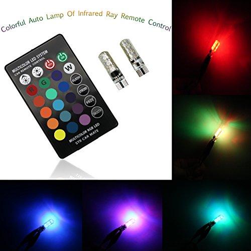 2LED-Stimmungslichter, T105050 6SMD, RGB,mit Fernbedienung, Lampe/Stroboskoplicht/Leselampe Zwei Kopf-notfall-licht