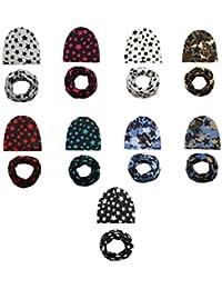 BrilliantDay Set di 9 pezzi Berretto bambini Soft Touch Cappello unisex per  neonati e bambini c11699ce4fb0