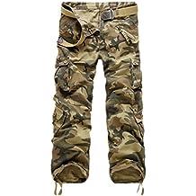 7e6918d87c6 Ghope Vintage Cool d été Homme Style Militaire Cargo Shorts Sports de  Combat Casual Pantalon