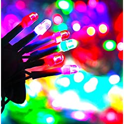 Citra LED Waterproof String Light, 30M 98ft 120LED Fairy Lights for Diwali , Indoor, Outdoor, Yard, Garden, Path, Chrismas, Landscape, Wedding, Party, Holiday Decoration (Multi-color)