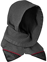 Musterbrand Assassin's Creed Bufanda con capucha Solomon's Mantle Knit Wool Scoodie Gris