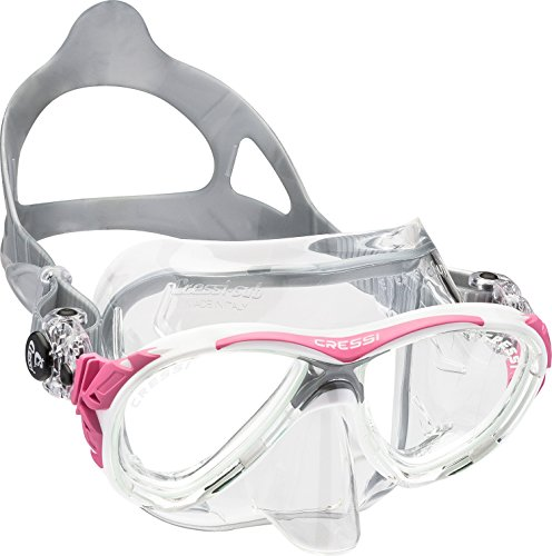 Cressi Eyes Evolution Crystal - Gafas Buceo Rosa Rosa