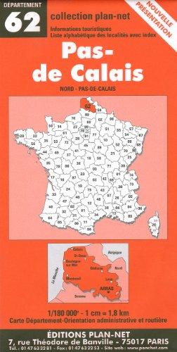 Carte routière : Pas-de-Calais