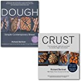Richard Bertinet 2 Books Collection, (Dough, Crust) Simple Contemporary Bread