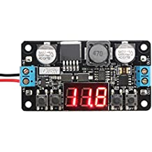 DROK® LM2596 Buck Converter Regolabile con Voltmetro Digitale 12V 4-40V a 1.25-37V Step Down DC Power Supply Modulo