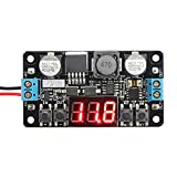 DROK® DC/DC Micro LM2596 DC 5-40V à 1,25-37V Buck Converter DIY Reglable Output Voltage Transformer Step-down Abaisseur Tension Wandler Convertisseurs Power Supply Module Board Régulateur Numérique LED Display Voltmètre