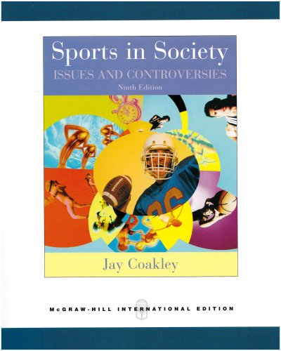 Sports in Society: Issues and Controversies with Online Learning Center Passcode Bind-in Card