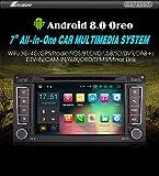 'Autoradio erisin Car stéréo es7856t 7Android 8.0DVD 4g GPS CANBUS TPMS pour Volkswagen Touareg