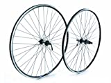 Tru-build Wheels RGR951 - Rueda trasera para bicicleta (tamaño 700 C), color negro