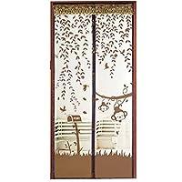 Questo pratico schermo mantiene gli insetti fuori della vostra casa, e meglio di tutti, si apre facilmente e si chiude dopo aver superato grazie al magneti attaccati. Protegge contro gli insetti. Facile installazione senza perforazione o viti necessa...