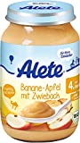 Alete - Bio Banane-Apfel mit Zwieback - Babybrei - 190g