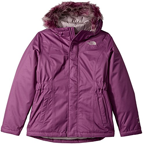 The North Face Girl's Greenland Down Parka - Wood Violet - XL (Past Season) North Face Down Coat