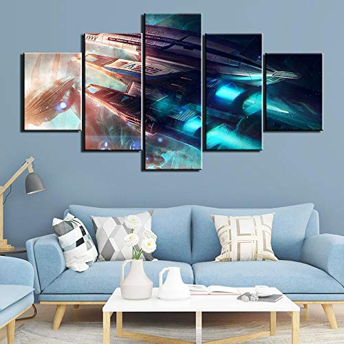 Yyjyxd Leinwand HD Drucke Poster Wohnkultur Wandkunst Malerei 5 Panelsmovie Bilder Für Wohnzimmer Rahmen-8 x 14/18/22inch,Without frame (Full 8 Movie Halloween)